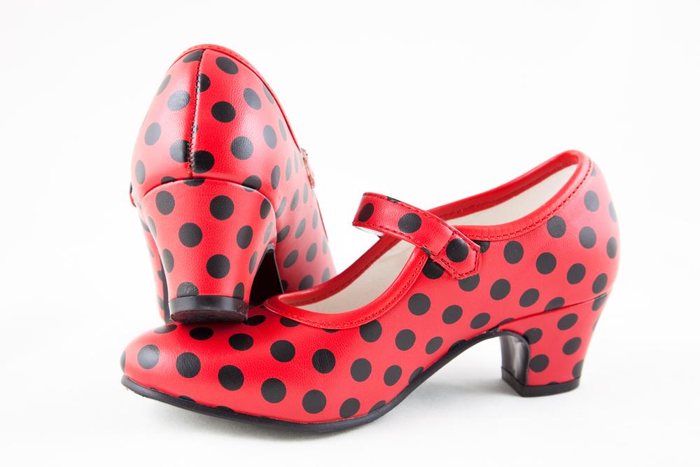 lunares en la moda flamenca